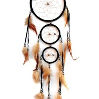 Dream Catcher with Feather Wall Hanging Ornament-3RB