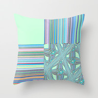 Re-Created Southern Cross I Throw Pillow by Robert S. Lee
