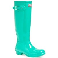 Hunter 'Original Tall' Gloss Rain Boot (Women)