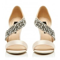 Ivanka Embellished Heel Buy Dresses, Tops, Pants, Denim, Handbags, Shoes and Accessories Online