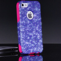 Otterbox iPhone 5/5S Case Custom Fairy Dust Glitter Commuter Series Sparkly iPhone 5/5S Otterbox Cover