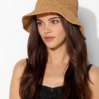 Crochet Straw Bucket Hat - Urban Outfitters
