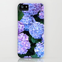 Dreamy Hydrangea iPhone & iPod Case by Tess Elizabeth