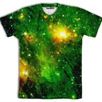 ☮♡ Green Galaxy Shirt ✞☆