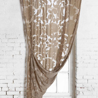 Magical Thinking Ribbon Damask Curtain-