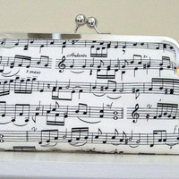CLUTCH PURSE Sheet Music Print | Luulla