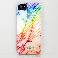 iphone and ipod case Broken, rupture, damaged, cracked out apple iPhone 4 4s, 5 5s 5c, iPod 4,5 & samsung galaxy s4 case cover