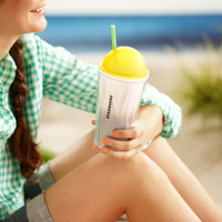 Starbucks® Chiseled Ombre Cold Cup - Yellow, 16 fl oz