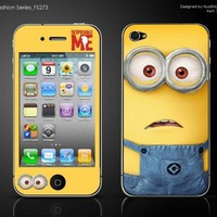 iPhone 4/4s Full Body Protective Skin Decal - Minions