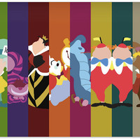 Disney Alice in Wonderland Poster