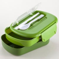 Green Bento Lunch Box