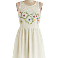 Folksy Fete Dress | Mod Retro Vintage Dresses | ModCloth.com