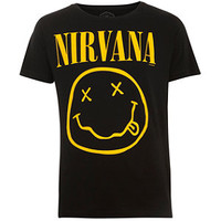 Black Nirvana Band T-Shirt