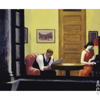 Room in New York, 1932 Print by Edward Hopper at Art.com