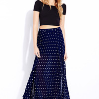 Sweet Dots Maxi Skirt