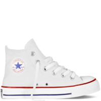 Optical White Hi-Top Chuck Taylors : Kids Converse Shoes | Converse.com