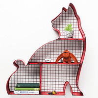 Cat Shelf in Red - Urban Outfitters