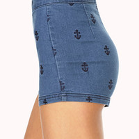 Set Sail High-Waisted Shorts