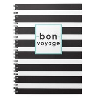 Bon Voage Mint Notebook