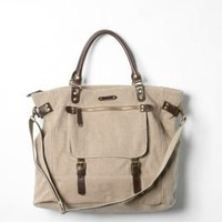 UrbanOutfitters.com > BDG Twill Buckle Tote