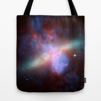 Cosmic Galaxy Tote Bag by All Is One
