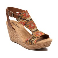 Womens Minnetonka Duffy Wedge