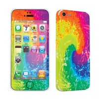 Apple iPhone 5C Vinyl Decal Sticker Protection Skin By SkinGuardz - Tie Dye