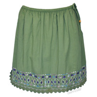 Borderline Mini Skirt on Sale for $16.99 at HippieShop.com