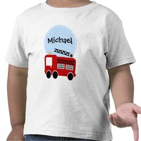 Personalized Fire Truck Boy