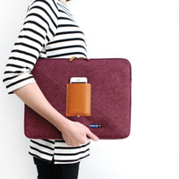 Basic Felt Laptop Pouch v2