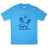 HUF - SIRENA TEE // CAROLINA BLUE