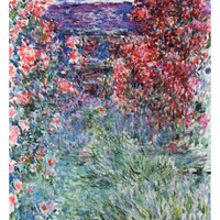 The House at Giverny Under the Roses, 1925 Giclee Print by Claude Monet at Art.com
