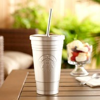 Starbucks Stainless Steel Cold Cup, Double Wall, No Condensation, 473ml, New