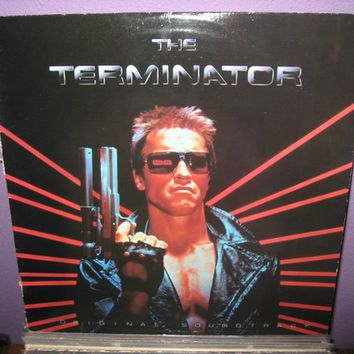 Rare Vinyl Record The Terminator Original Soundtrack LP 1984 Sci Fi Synth Classic