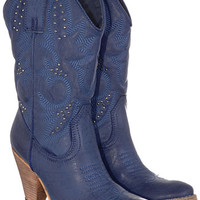 Lonesome Cowgirl Blues Boots - PLASTICLAND