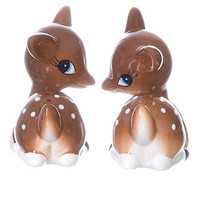 Retro Deer Salt & Pepper Shakers - PLASTICLAND
