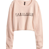 H&M - Knit Sweater - Pink - Ladies
