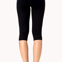Layered Skinny Workout Capris