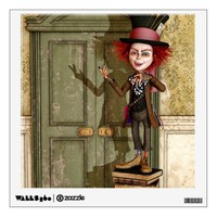 Mad Hatter - Wonderland Wall Decal