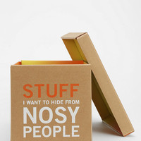 Knock Knock Nosy People Box - Urban Outfitters