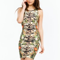 Jungle Fever Bodycon Dress