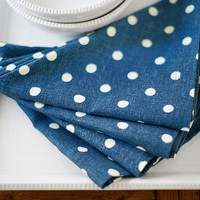 POLKA DOT NAPKINS, SET OF 4