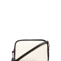 Pour La Victoire Crossbody Bag in White/Black from REVOLVEclothing.com