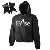 Black iBase Cheer ComBow-White Print
