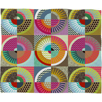 Sharon Turner New York Beauty Fleece Throw Blanket