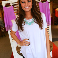Short Sleeve White Piko