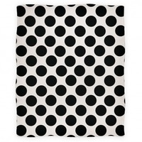 Polka Dot Blanket (Black)