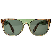The Flat Top Small Sunglasses in Camo