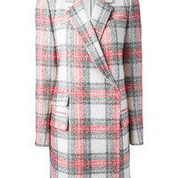 STELLA MCCARTNEY tartan coat