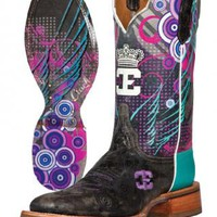 Queenism Cinch Edge Boots Urban Western Wear